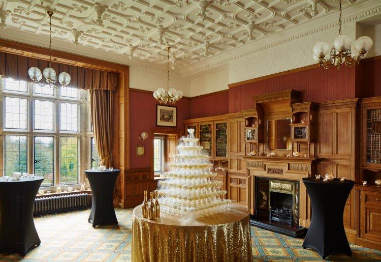 Derbyshire Country House Wedding Venue Breadsall Priory