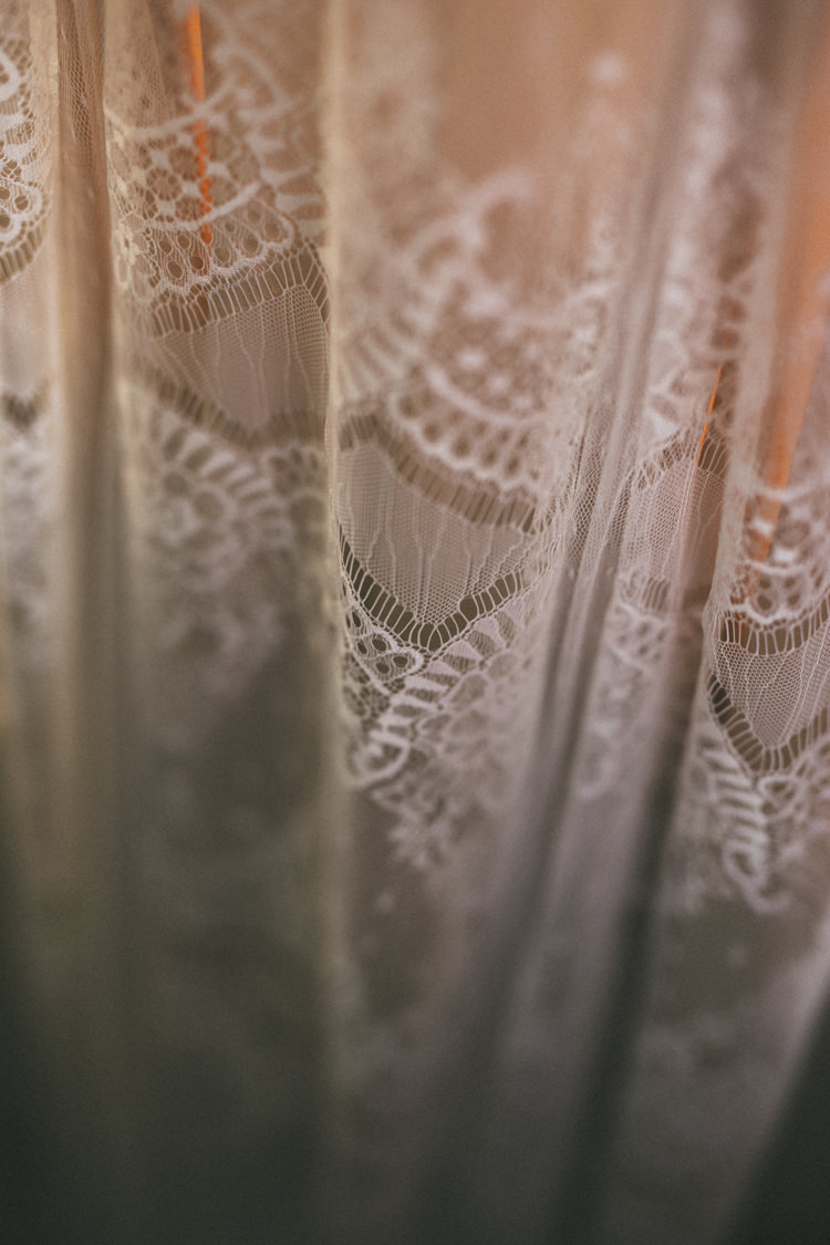 Lace Dress Gown Bride Bridal Belle Bunty Pretty Peach Boho Wedding http://liamsmithphotography.com/