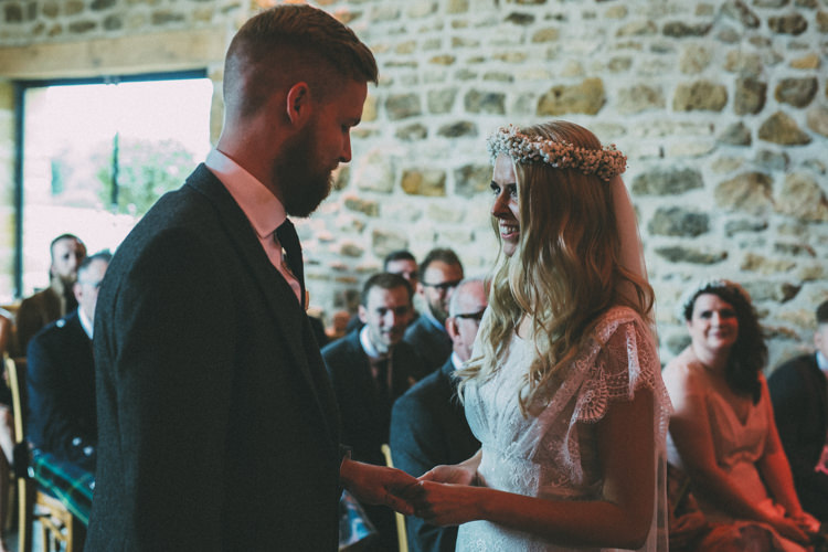 Pretty Peach Boho Wedding http://liamsmithphotography.com/
