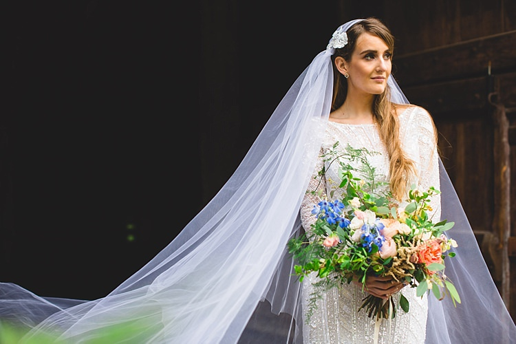 Juliet Cap Veil Bride Bridal Accessory Eclectic Foliage Edison Lights Wedding http://www.tobiahtayo.com/