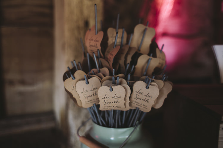 Sparklers Rustic Quintessentially English Countryside Wedding http://www.sarahmorris-photography.com/
