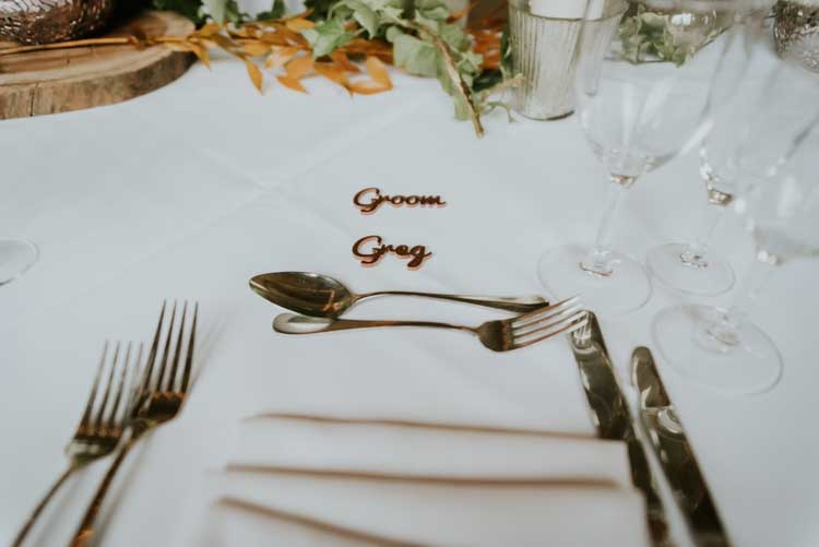 Rose Gold Autumn Barn Wedding http://www.weddingphotographyincheltenham.co.uk/