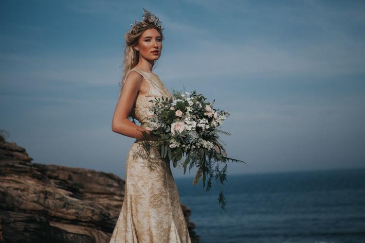 Luxe Bohemian Beach Wedding Ideas http://www.zoeemilie.co.uk/