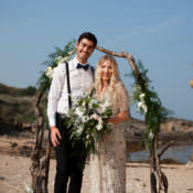 Luxe Bohemian Beach Wedding Ideas