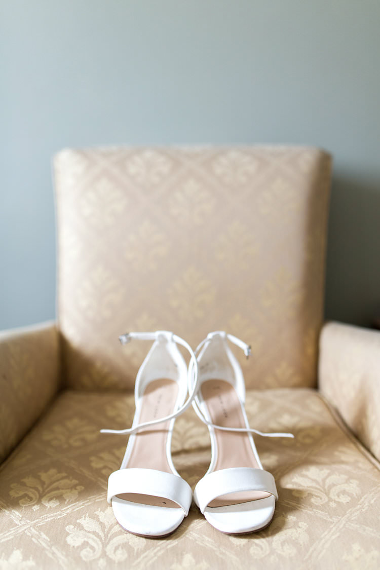 Shoes Bride Bridal White Heels Straps Summer Sunflowers Marquee Wedding http://maddiewaters.co.uk/