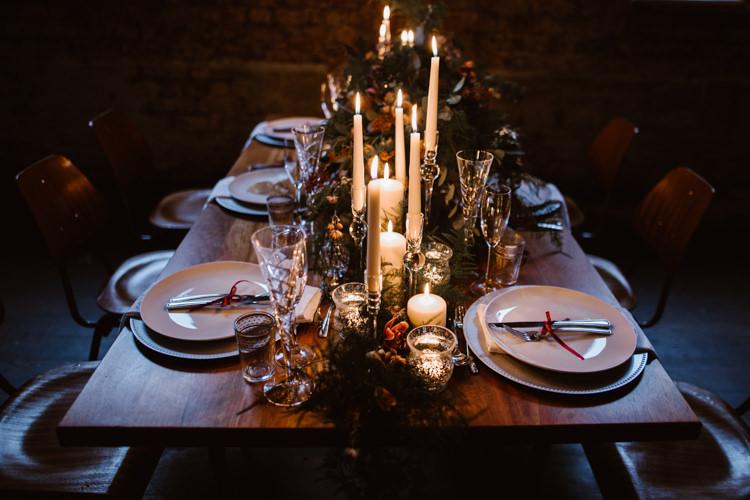 Candles Dark Romantic Urban Wedding Ideas http://www.agnesblack.com/