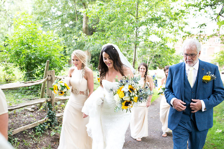 Summer Sunflowers Marquee Wedding http://maddiewaters.co.uk/