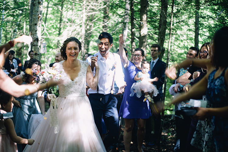 Woodland Waterfall Mint Wedding Ontario http://www.laurenmccormickphotography.com/