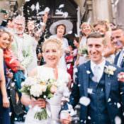 Light & Pretty Peach London City Wedding