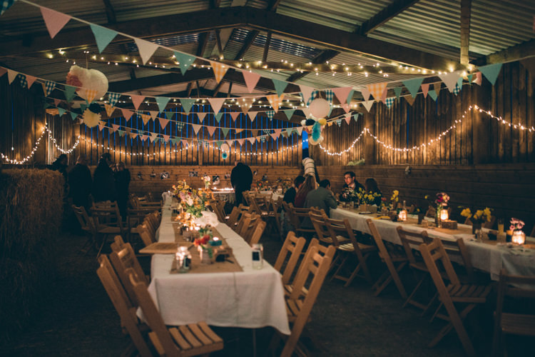 Fairy Lights Crafty Country Rustic Wedding http://www.naomijanephotography.com/