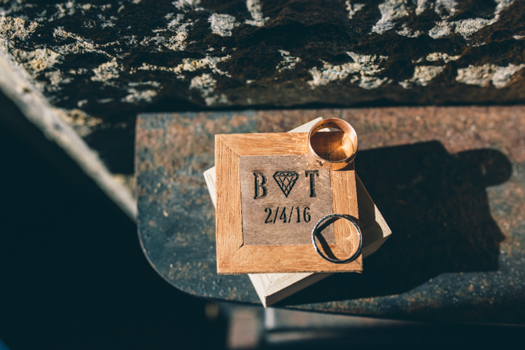 Wooden Ring Box Crafty Country Rustic Wedding http://www.naomijanephotography.com/