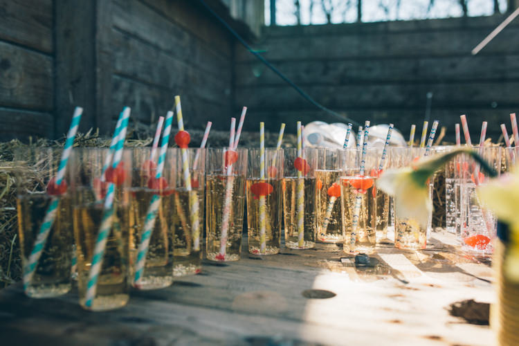 Dinks Stripy Straws Crafty Country Rustic Wedding http://www.naomijanephotography.com/