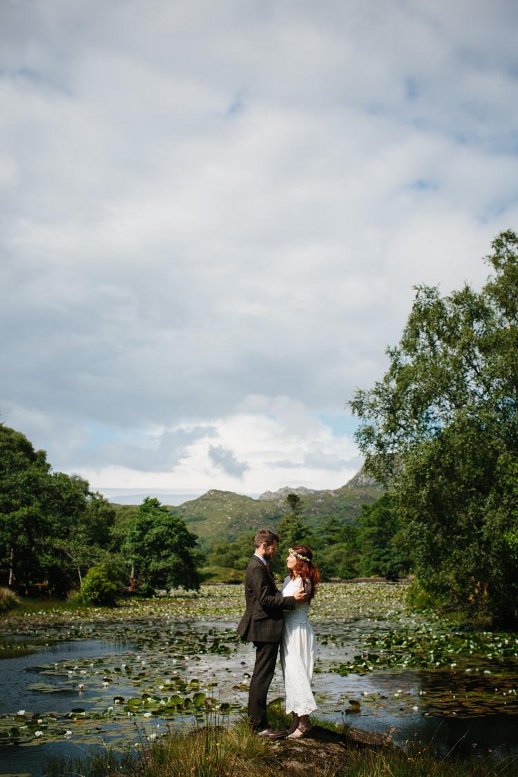 Intimate Outdoor Scotland Wedding Caroweiss