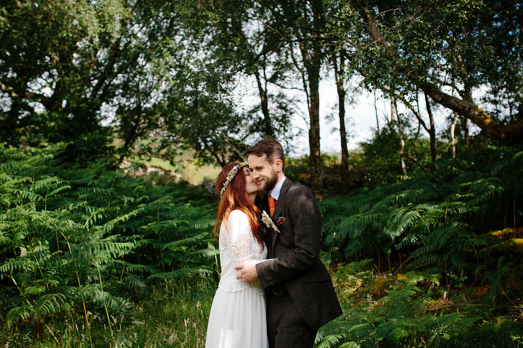 Intimate Outdoor Scotland Wedding http://www.caroweiss.com/