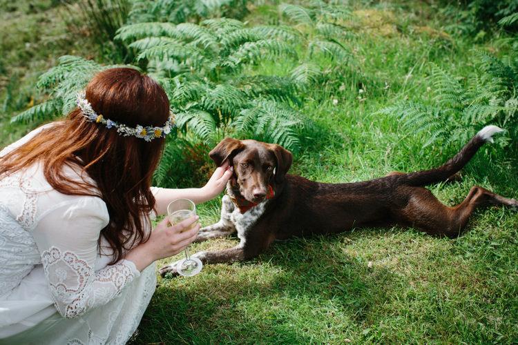 Intimate Outdoor Scotland Wedding http://www.caroweiss.com/