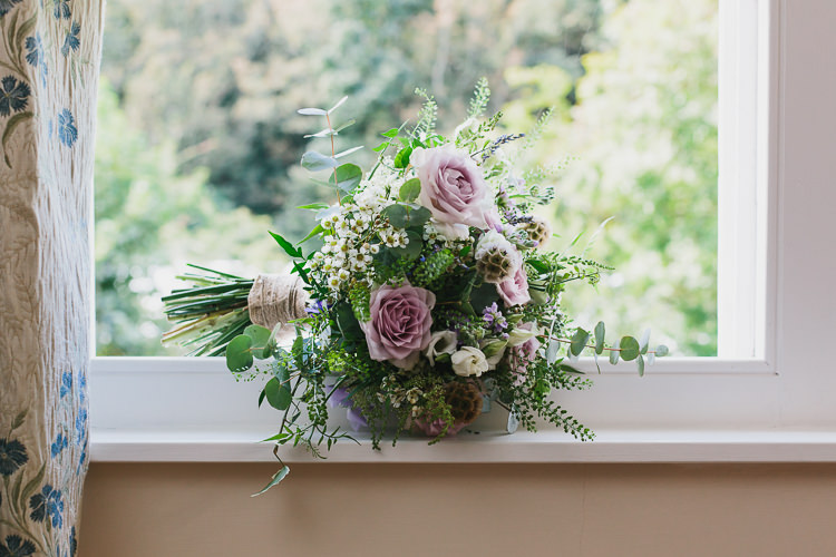 Lilac White Greenery Bouquet Flowers Bride Bridal Bohemian Outdoor Country Wedding https://www.alexapoppeweddingphotography.com/