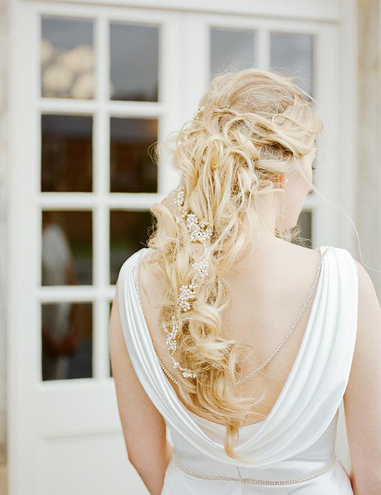 Hair Braid Plait Bride Bridal Style Greenery Fine Art Botanical Wedding Ideas http://georginaharrisonphotography.co.uk/