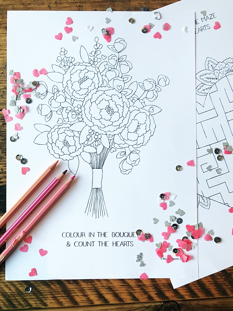 - Free Download Printable Wedding Colouring Sheets For Kids