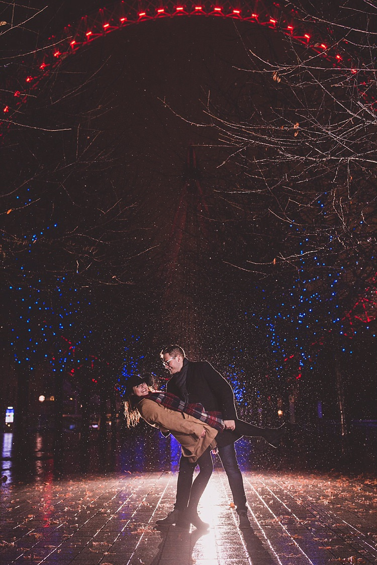 Rainy London Winter Engagement Shoot http://valostudio.com/