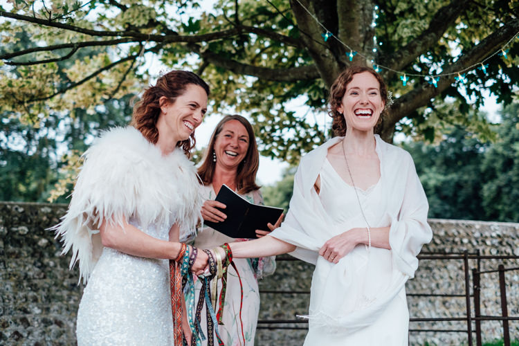 Rural Handfasting Village Hall Wedding http://www.annapumerphotography.com/