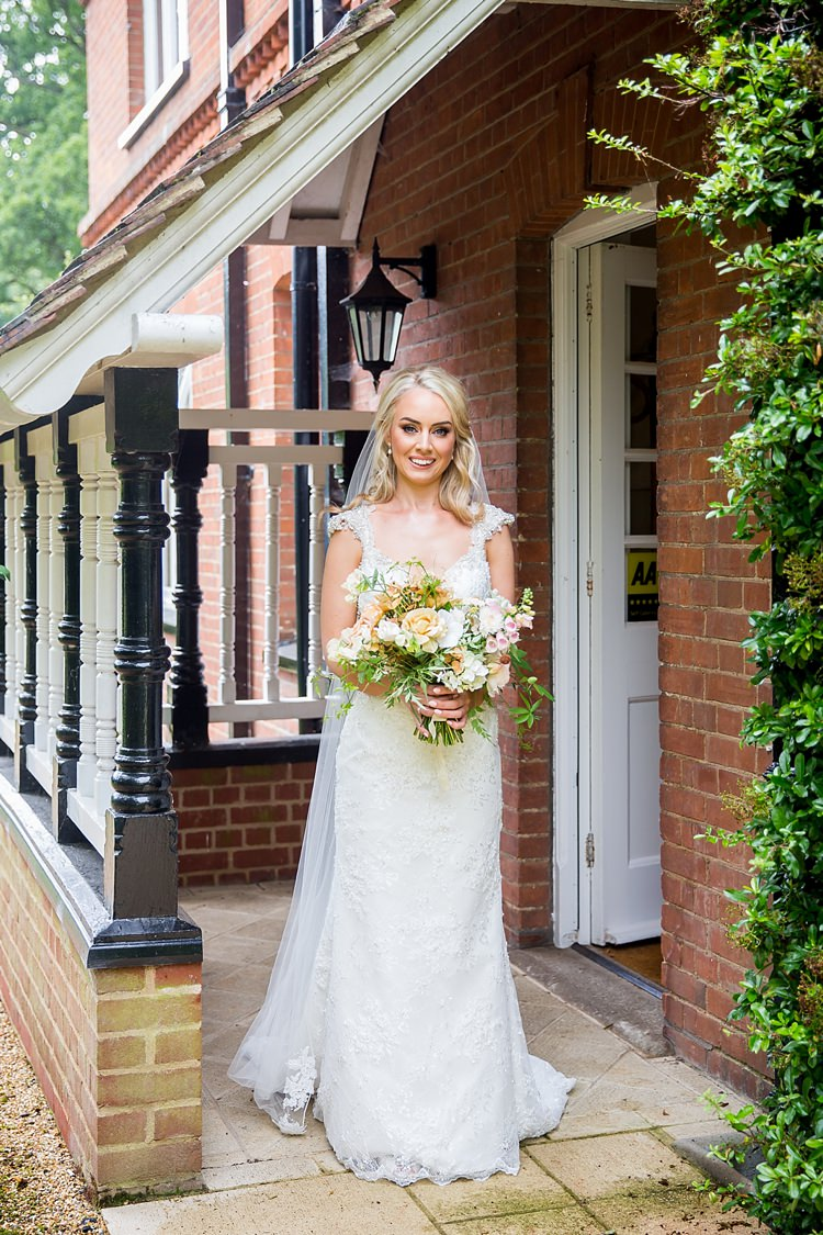 Maggie Sottero Dress Gown Beaded Bride Bridal Romantic Summer Country Blush Wedding http://katherineashdown.co.uk/
