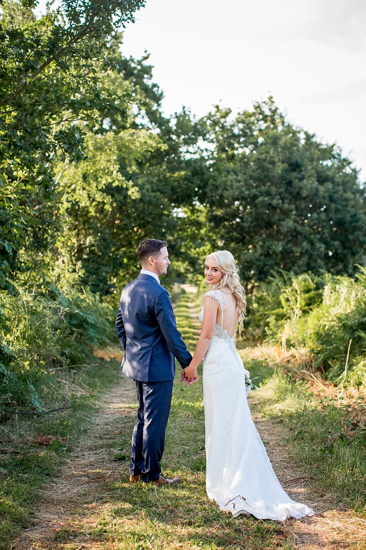 Maggie Sottero Dress Gown Bride Bridal Low Back Beaded Lace Romantic Summer Country Blush Wedding http://katherineashdown.co.uk/
