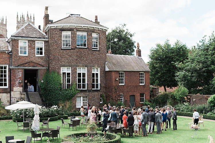Grays Court York UK Chic Natural Garden Wedding http://www.folegaphotography.co.uk/