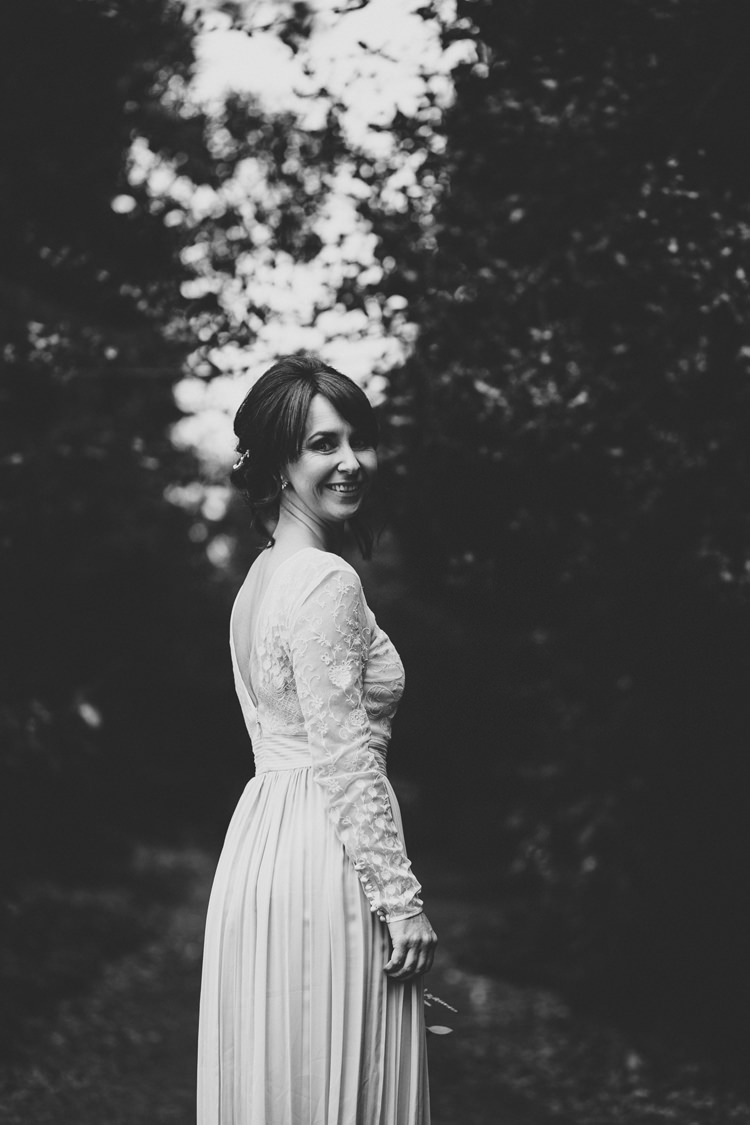Bridal Separates Skirt Top Bride Dress Gown Ivory Grey Catherine Deane Relaxed Autumnal Child Friendly Wedding http://kathrynedwardsphotography.com/