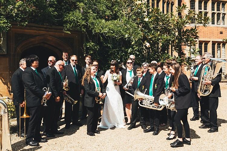 Fun Navy Yellow Country Garden Wedding http://missgen.com/