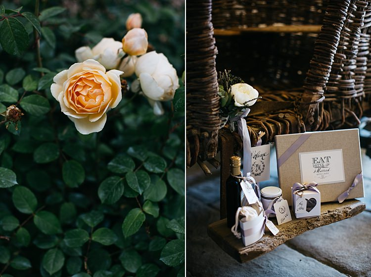 Wedding Stationery Black White Grey Ribbons Cream Yellow Roses Rustic Chic Greenery Wedding Ideas in Tuscany http://www.tastino0.it/