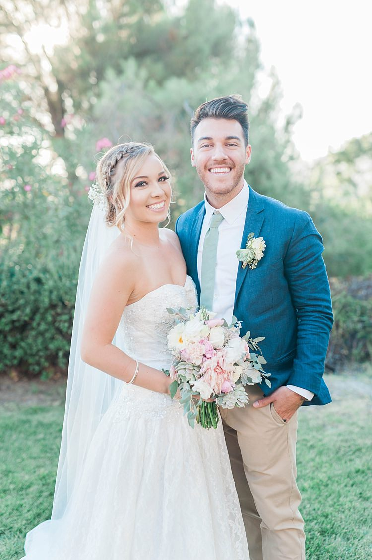 Soft Blush & Sage Green Wedding in California | Whimsical Wonderland ...
