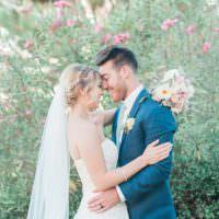 Soft Blush Sage Green Wedding California http://julia-rosephotography.com/