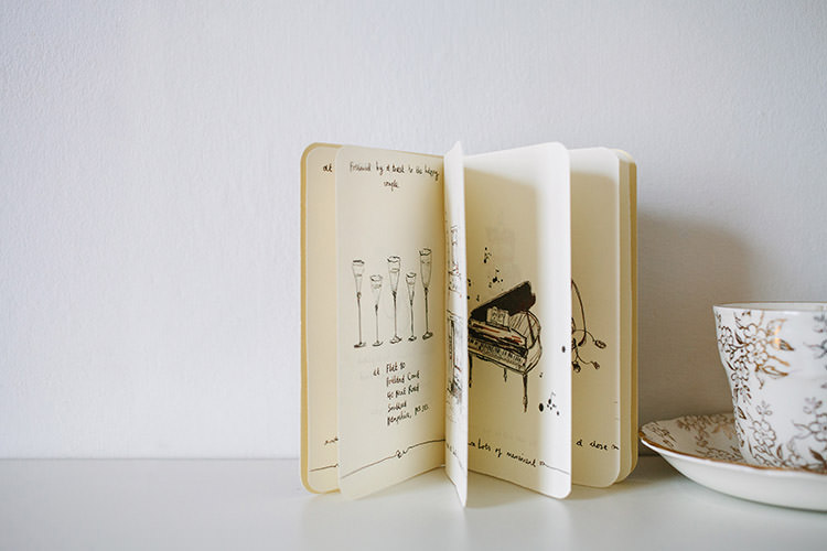 Stationery Invitation Booklet Small Vintage City Wedding http://www.sarahlondonphotography.co.uk/