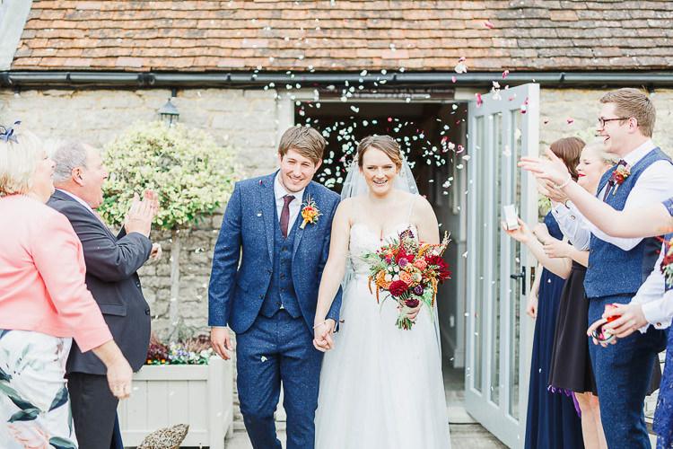 Confetti Throw Magical Fairy Lit Autumn Barn Wedding http://whitestagweddings.com/