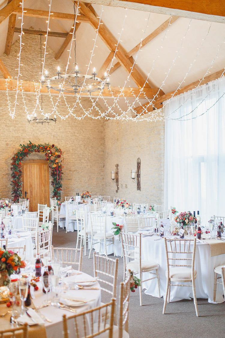 Magical Fairy Lit Autumn Barn Wedding http://whitestagweddings.com/