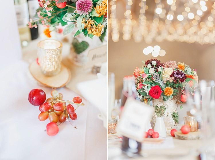 Magical Fairy Lit Autumn Barn Wedding http://whitestagweddings.com/