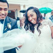 Fun & Stylish City Hall Wedding