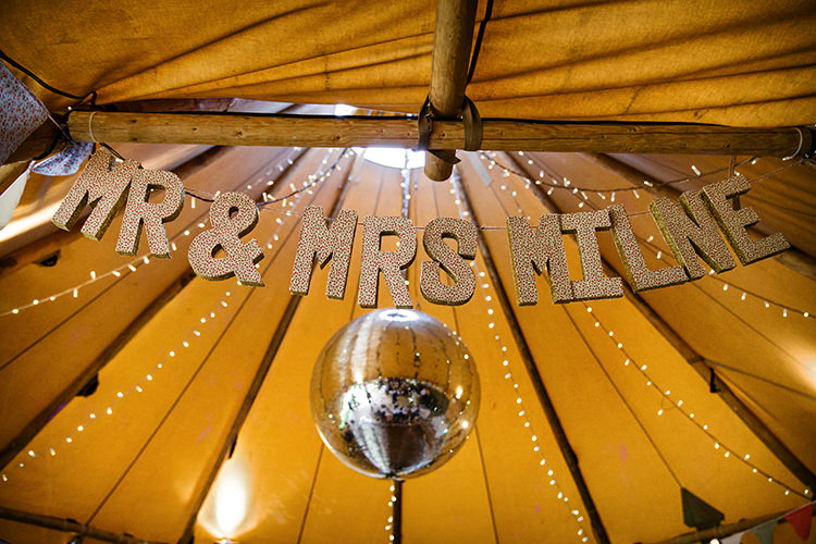 MR MRS Letter Bunting Garland Outdoorsy Garden Rustic Tipi Wedding http://alexabbottphotography.co.uk/