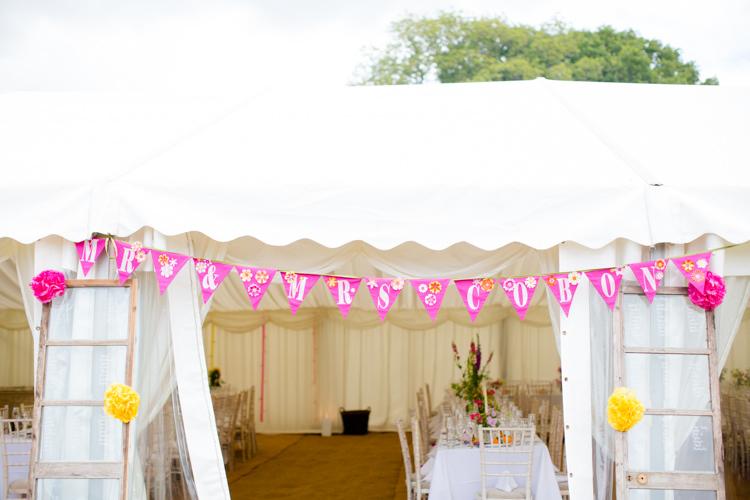 Colourful Pastel Home Made Farm Wedding http://helencawtephotography.com/