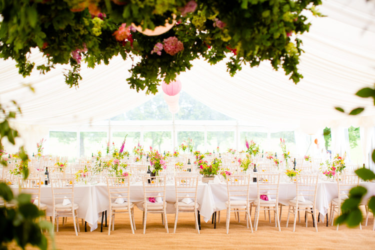 Marquee Flowers Decor Colourful Pastel Home Made Farm Wedding http://helencawtephotography.com/