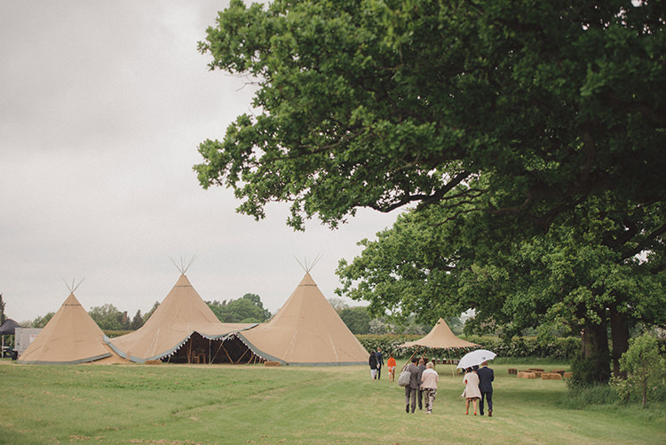 Tipi Farm Field UK Kent Rustic Quirky Woodland Wedding http://www.rebeccadouglas.co.uk/