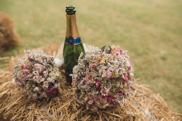 Dried Flowers Bouquets Bride Bridal Rustic Quirky Woodland Wedding http://www.rebeccadouglas.co.uk/