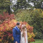 Ethereal & Romantic Autumn Barn Wedding
