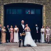 Colourful Modern Fun Wedding with 600 Balloons