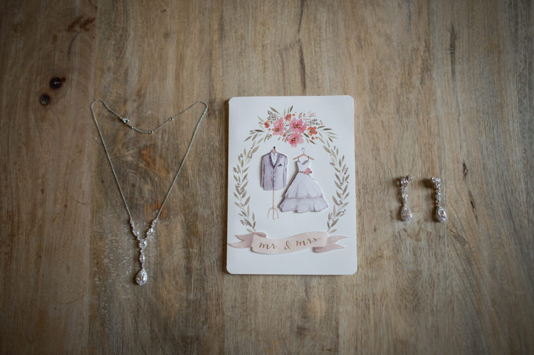 Bride Accessories Crystal Earrings Necklace Sweet Wedding Card Romantic Outdoor Castle Tuscany Wedding http://www.natalymontanari.com/