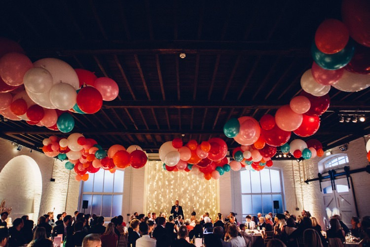 Colourful Modern Fun Balloons Wedding http://www.lovestruckphoto.co.uk/