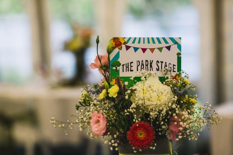Flowers Table Name Decor Fun Festival Glamping Wedding https://storry.co.uk/
