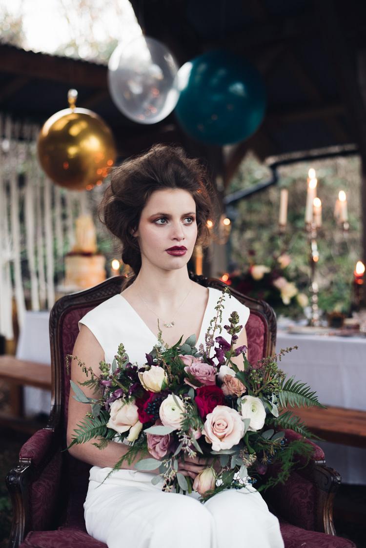 Bouquet Flowers Bride Bridal Rose Foliage Greenery Beauty And The Beast Wedding Ideas https://sophiecarefull.co.uk/