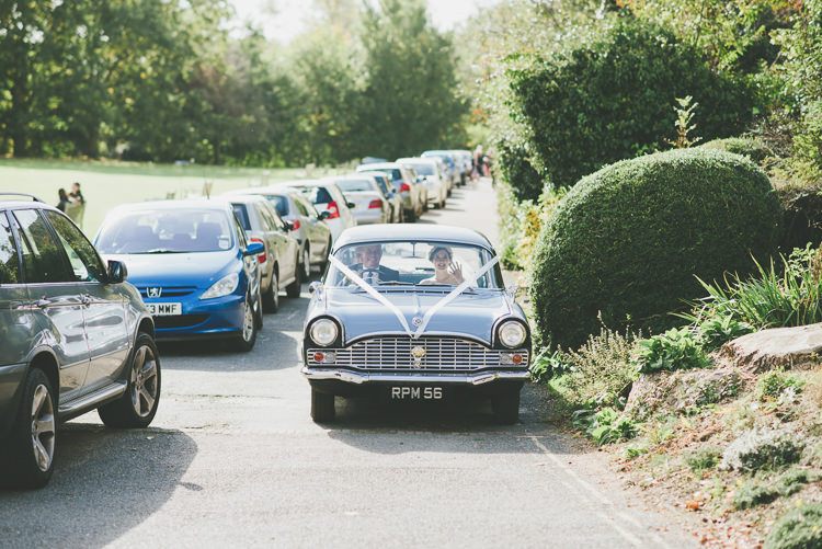 Classic Car Eclectic Quirky DIY Vintage Wedding https://www.georgimabee.com/