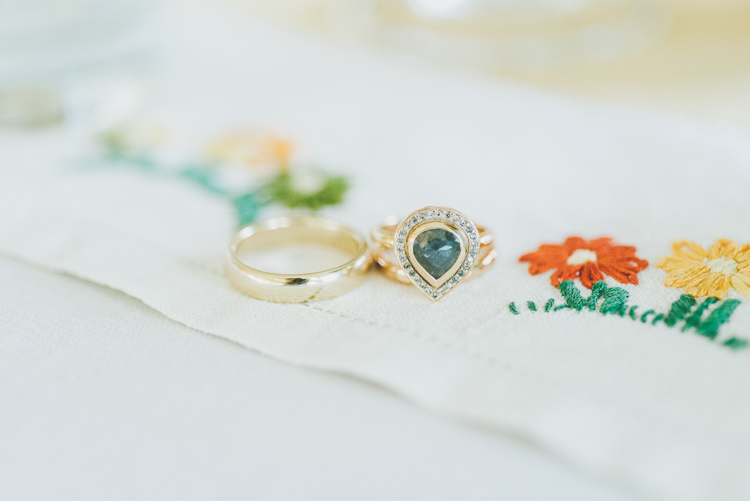 Engagement Ring Bands Eclectic Quirky DIY Vintage Wedding https://www.georgimabee.com/